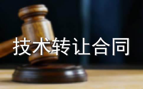 非专利技术转让合同(样式二)