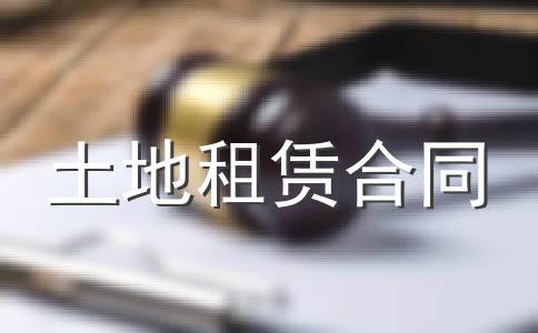 农村承包土地租赁合同
